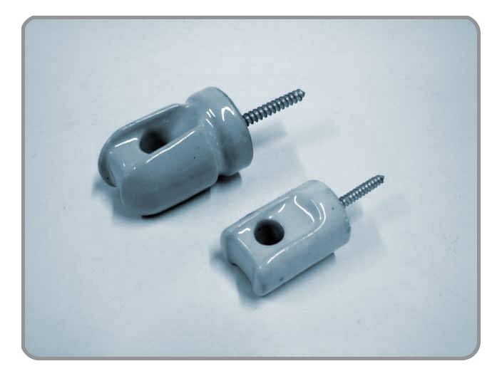 Insulators,Porcelain Insulator, Screw-in