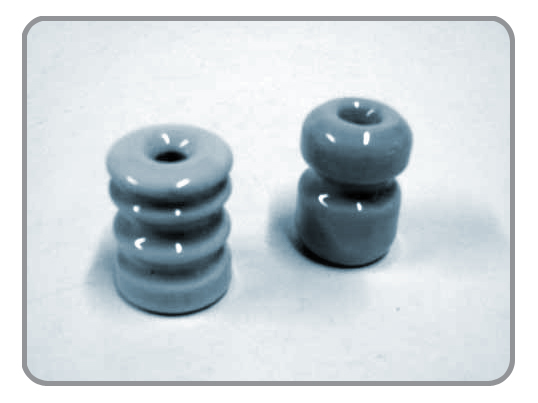 Insulators,Porcelain Insulator, Wood Post