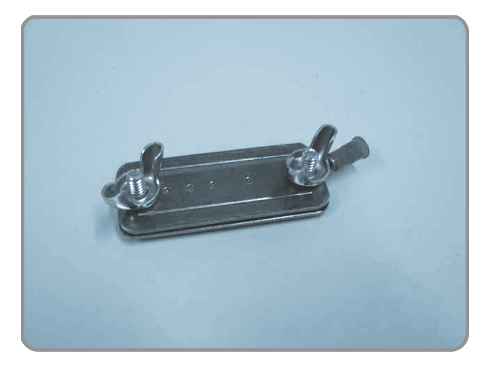 Tape Clamp, Electroplated Plate