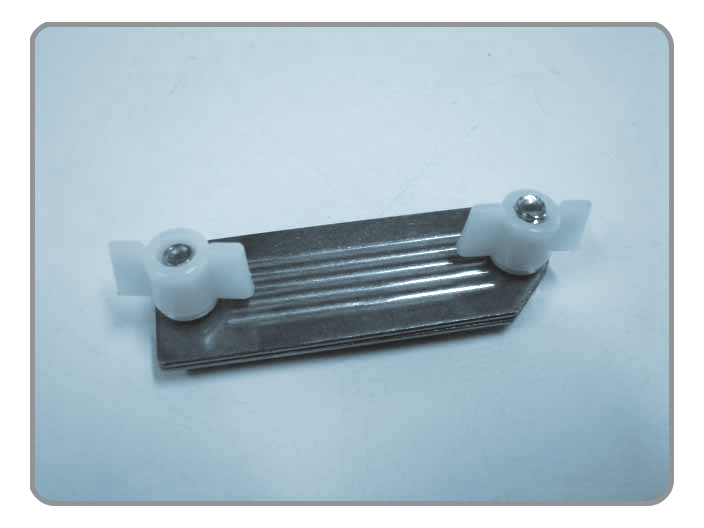 Tape Accessories,Tape Clamp, Stainless Steel Plate